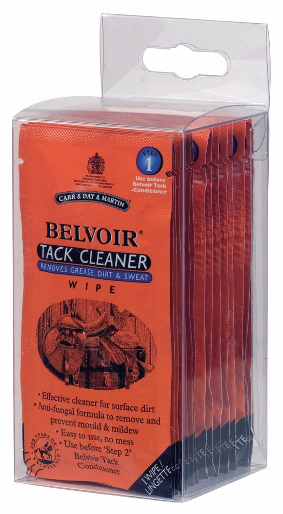 Carr&Day&Martin Belvoir Tack Cleaner Wipes 15 Count - Carr & Day & Martin - Breeches.com