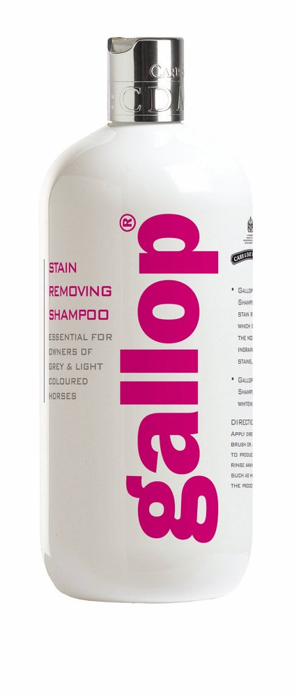 Gallop Stain Removing Horse Shampoo 500ML