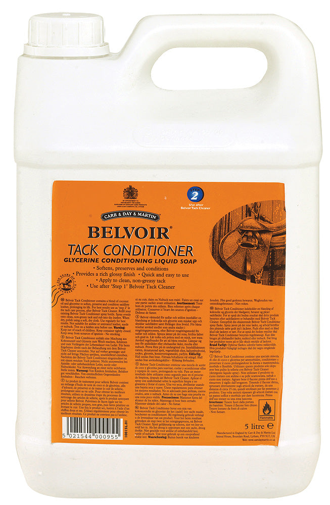 Carr&Day&Martin Belvoir Tack Conditioner (5L) - Carr & Day & Martin - Breeches.com