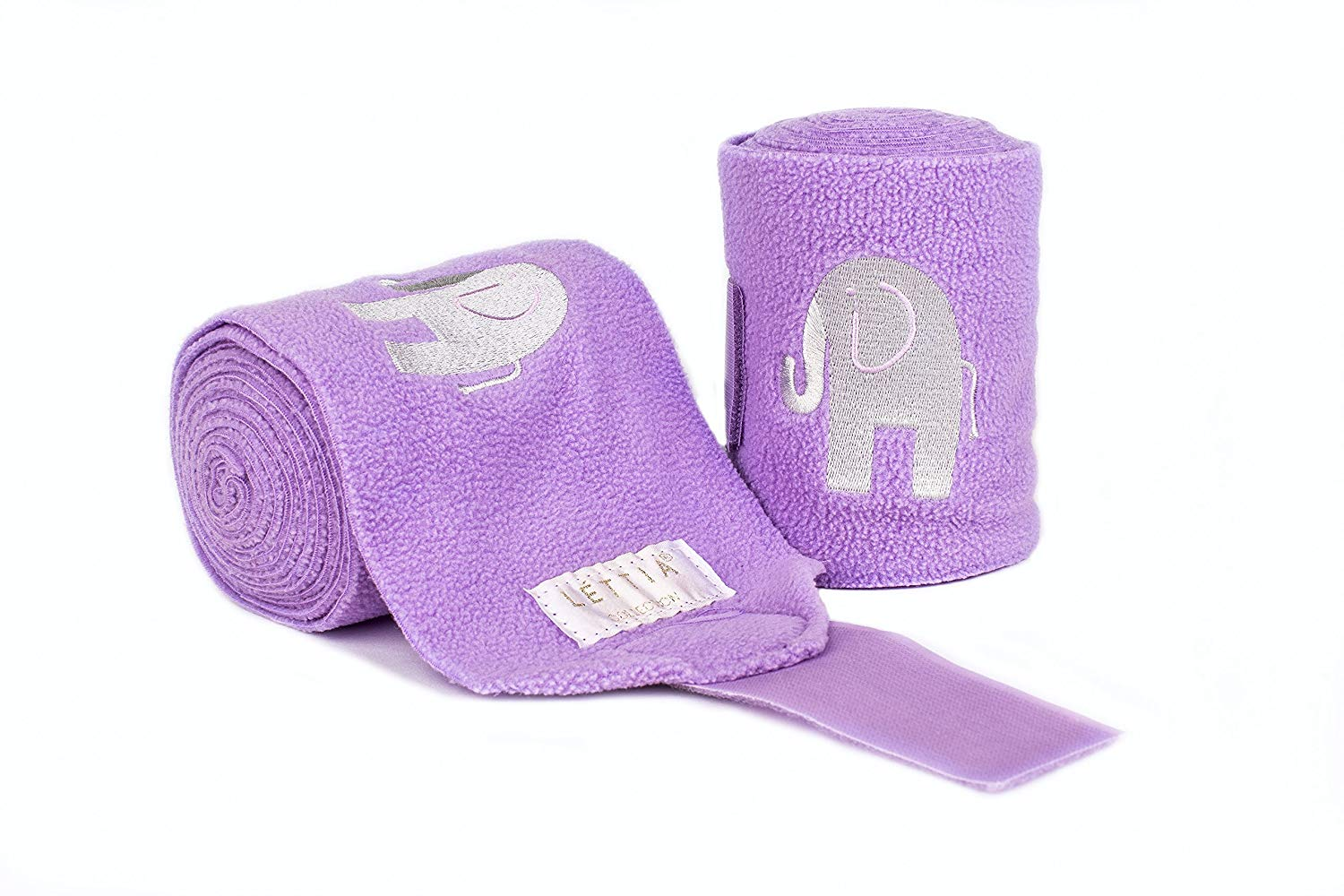 Embroidered Polo Bandages Elephant - Lettia - Breeches.com