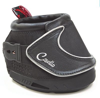 TuffRider Komplett Protkt Bell Boots Ribbed and Ringer with Hook and Loop Closure