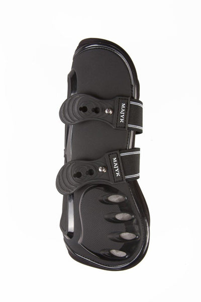 Boyd Martin TPU Shell Hyperflex Foam/Snap Closure Tendon Jump Boot (Horse/Full) Blak/Black_1