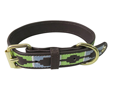 Halo Dog Collar - Leather with Cal Dog Collar - Halo - Breeches.com