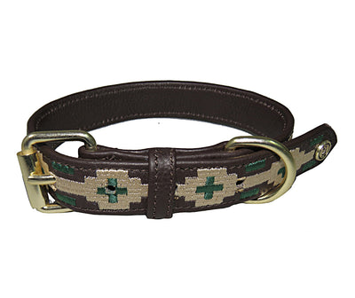Halo Dog Collar - Leather with Lex Dog Collar - Breeches.com