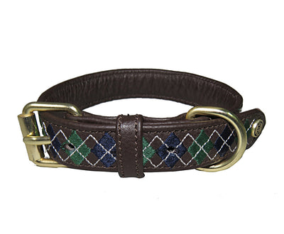 Halo Dog Collar - Leather with Buffy Dog Collar_2