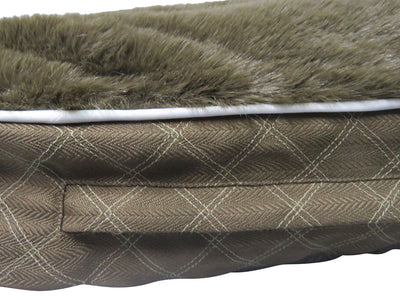 Rectangular Natasha Dog Bed - Halo - Breeches.com