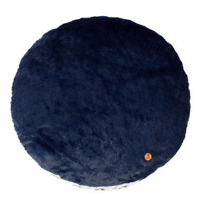 Halo Palm Trees Round Dog Bed_8