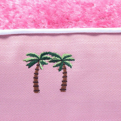 Halo Palm Trees Rectangular Dog Bed - Halo - Breeches.com
