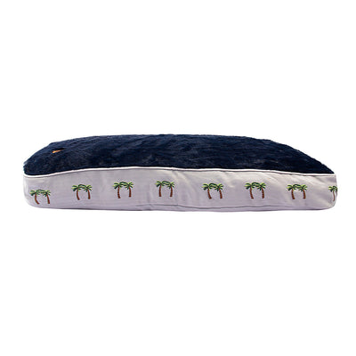Halo Palm Trees Rectangular Dog Bed - Breeches.com
