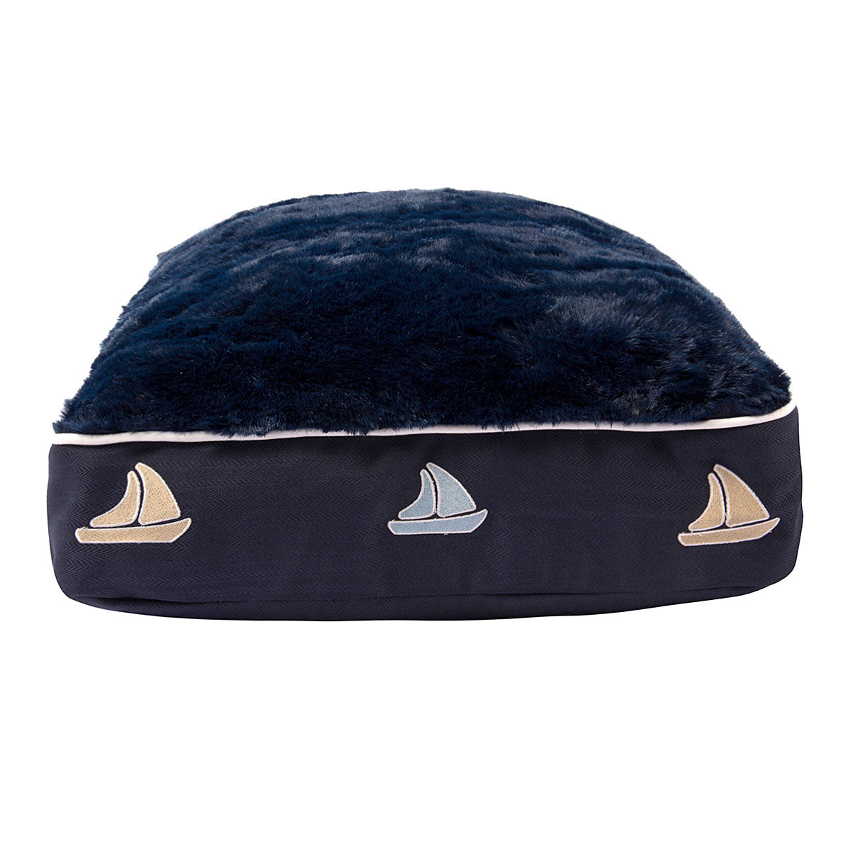 Halo Sailboat Rectangular Dog Bed - Halo - Breeches.com