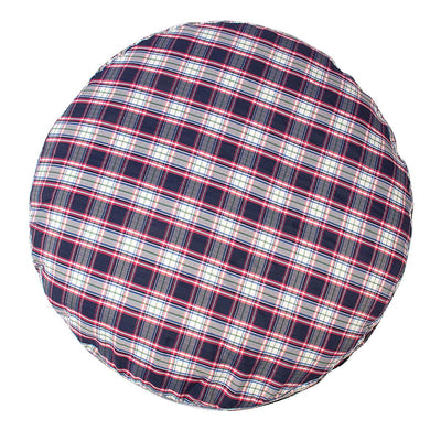 Halo Amber Plaid Round Dog Bed - Halo - Breeches.com