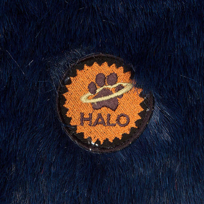 Halo Amber Plaid Round Dog Bed - Breeches.com