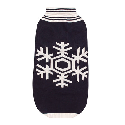 Halo Snowflake Dog Sweater_1