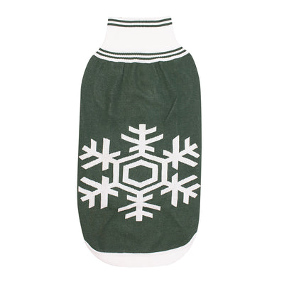 Halo Snowflake Dog Sweater - Breeches.com