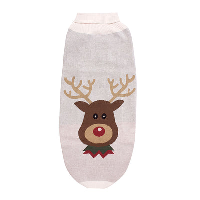 Halo Reindeer Dog Sweater_1