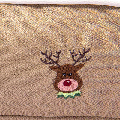 Halo Reindeer Rectangular Dog Bed_4