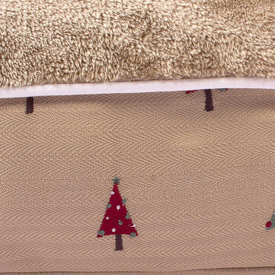 Christmas Tree Rectangular Dog Bed - Halo - Breeches.com