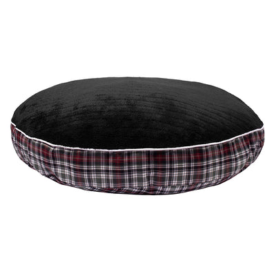 Halo Duck Green Plaid Round Dog Bed - Halo - Breeches.com