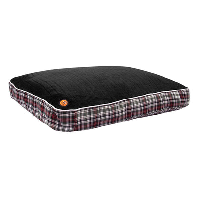 Halo Duck Green Plaid Rectangular Dog Bed - Breeches.com