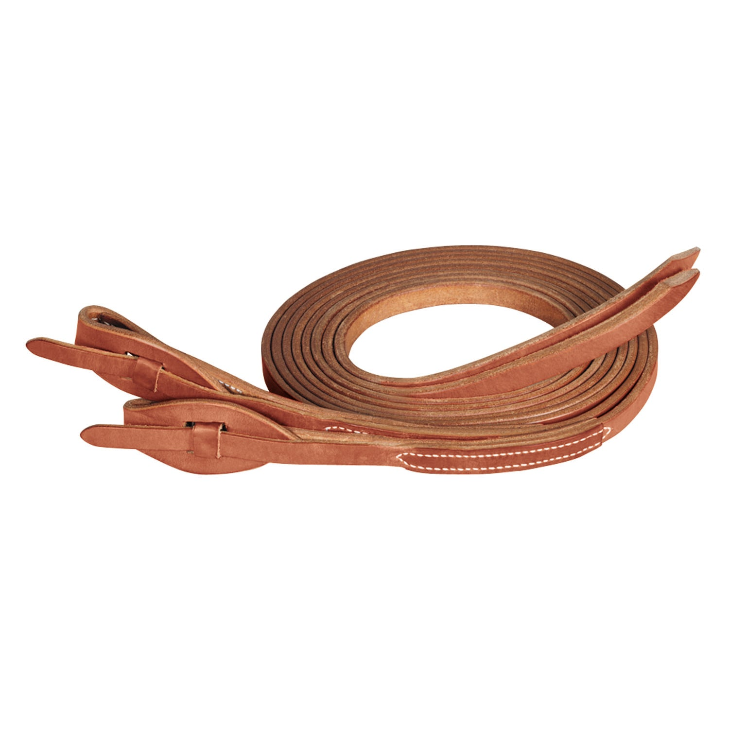 ProTack Quick Change Split Reins, Leather Tab Bit Ends - Weaver Leather - Breeches.com