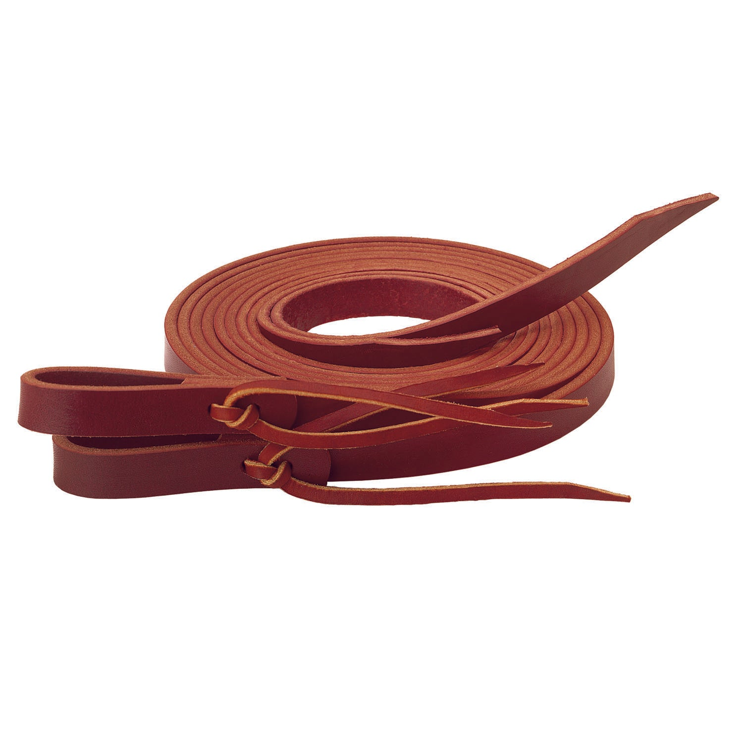 Burgundy Latigo Split Reins - Weaver Leather - Breeches.com