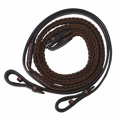 Henri de Rivel Advantage Plaited Reins - Breeches.com