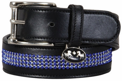 Bling Leather Belt - Regular Leather - Equine Couture - Breeches.com