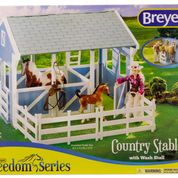 Breyer Country Stable with Wash Stall - Breeches.com
