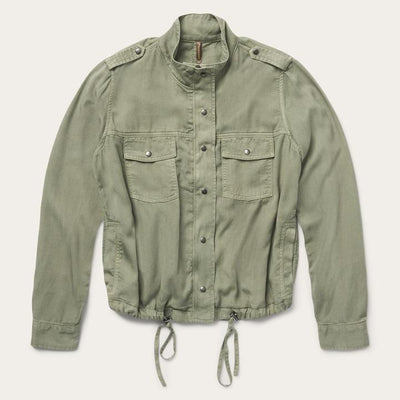 Stetson Womens  Army Green Jacket_10