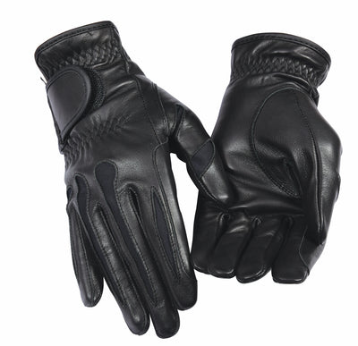 TuffRider Ladies Stretch Leather Riding Gloves_1