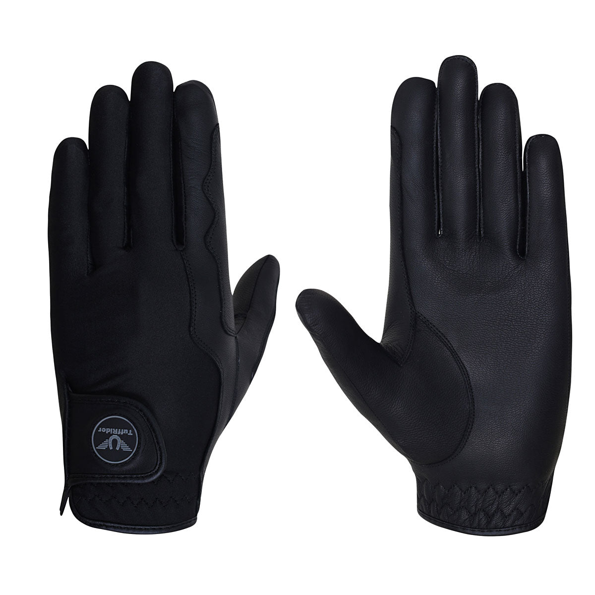 TuffRider Stretch n Grip Riding Gloves - TuffRider - Breeches.com
