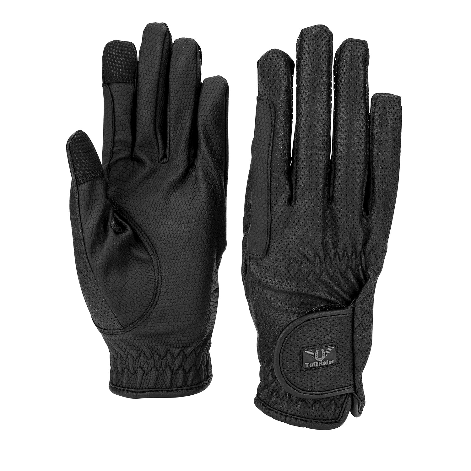 TuffRider Breathable Gloves With Grippy Palm - TuffRider - Breeches.com