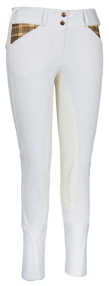 Ladies Elite Full Seat Breeches - Baker - Breeches.com