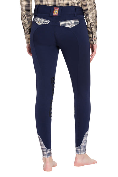 5/A Baker Ladies Pro Silicone Knee Patch Breeches - Breeches.com