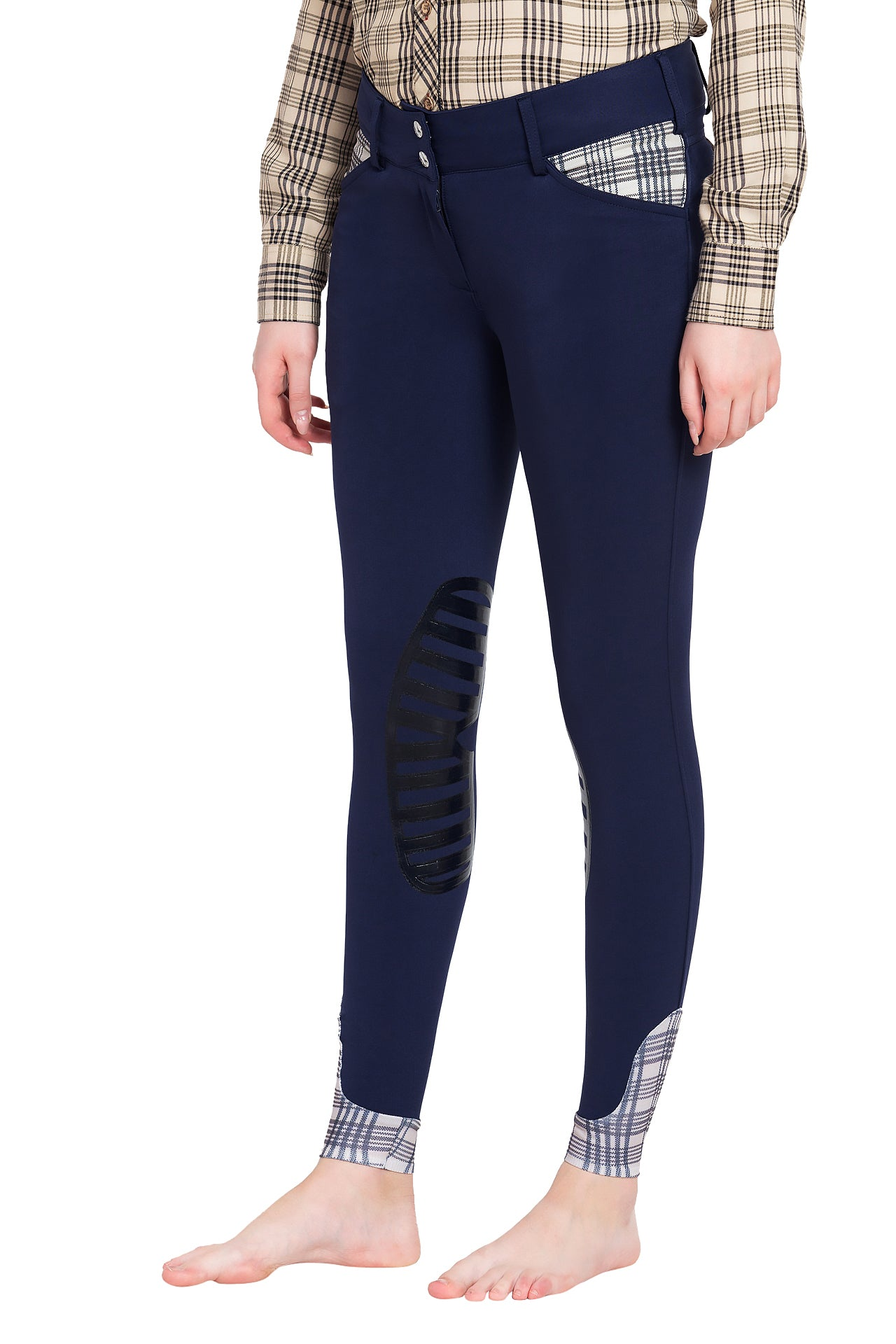 Baker Ladies Pro Silicone Knee Patch Breeches - Baker - Breeches.com