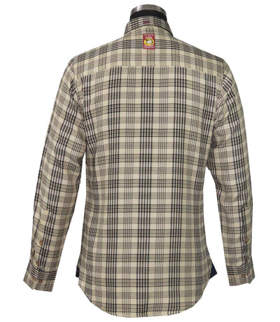 Men's Long Sleeve Sport Shirt - Baker - Breeches.com