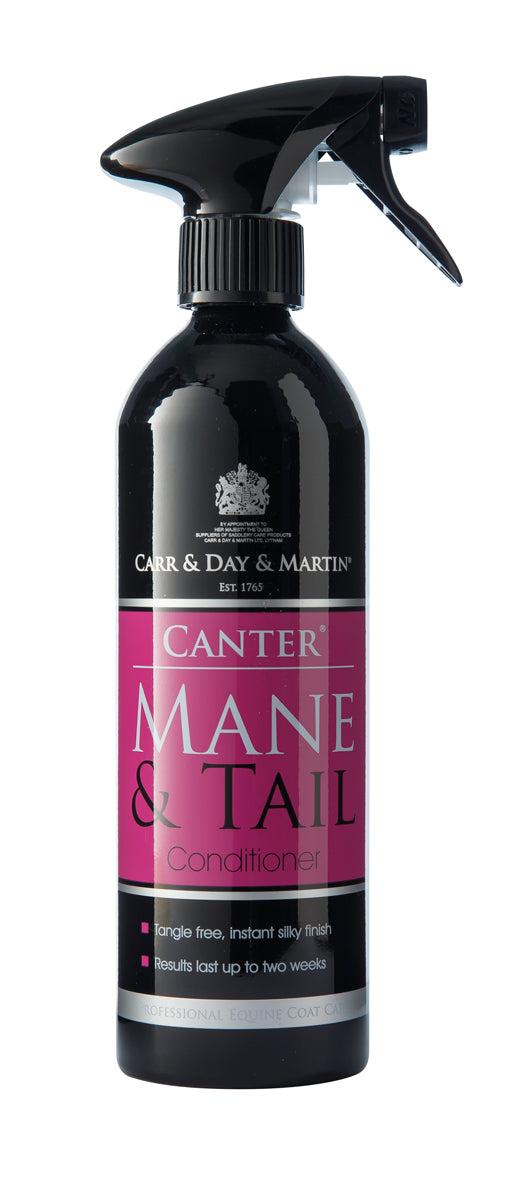 CARR & DAY & MARTIN BELVOIR CANTER MANE & TAIL CONDITIONING SPRAY 500 ML ALUMINUM BOTTLE - Carr & Day & Martin - Breeches.com
