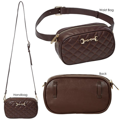 Equi-Ternatives Snaffle Bit Waist Bag/CrossBody Combo _3