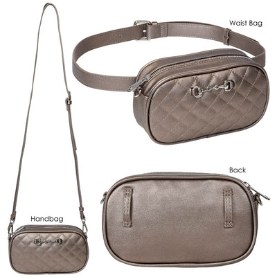 Equi-Ternatives Snaffle Bit Waist Bag/CrossBody Combo _4