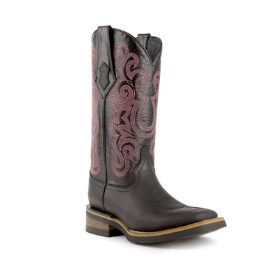 Ferrini Ladies Maverick Square Toe Boot_624