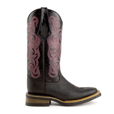 Ferrini Ladies Maverick Square Toe Boot_627