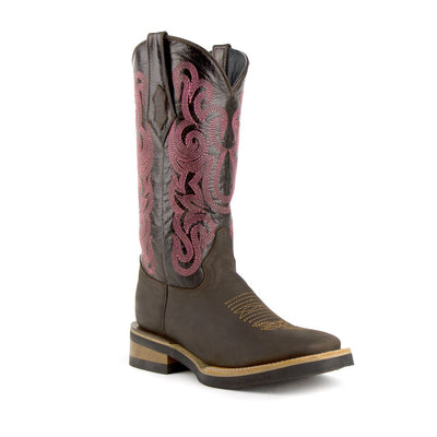 Ferrini Ladies Maverick Square Toe Boot_630