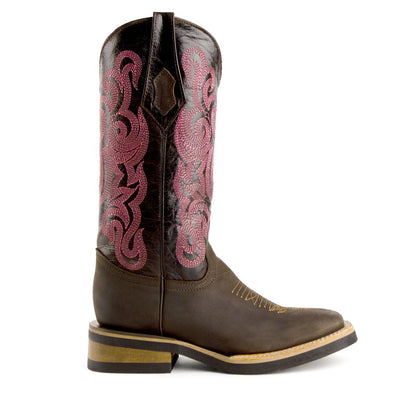 Ferrini Ladies Maverick Square Toe Boot_633