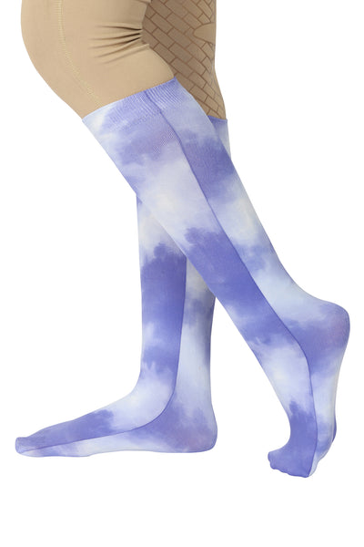 TUFFRIDER COTTON FEEL TIE DYE BOOT SOCKS - Breeches.com