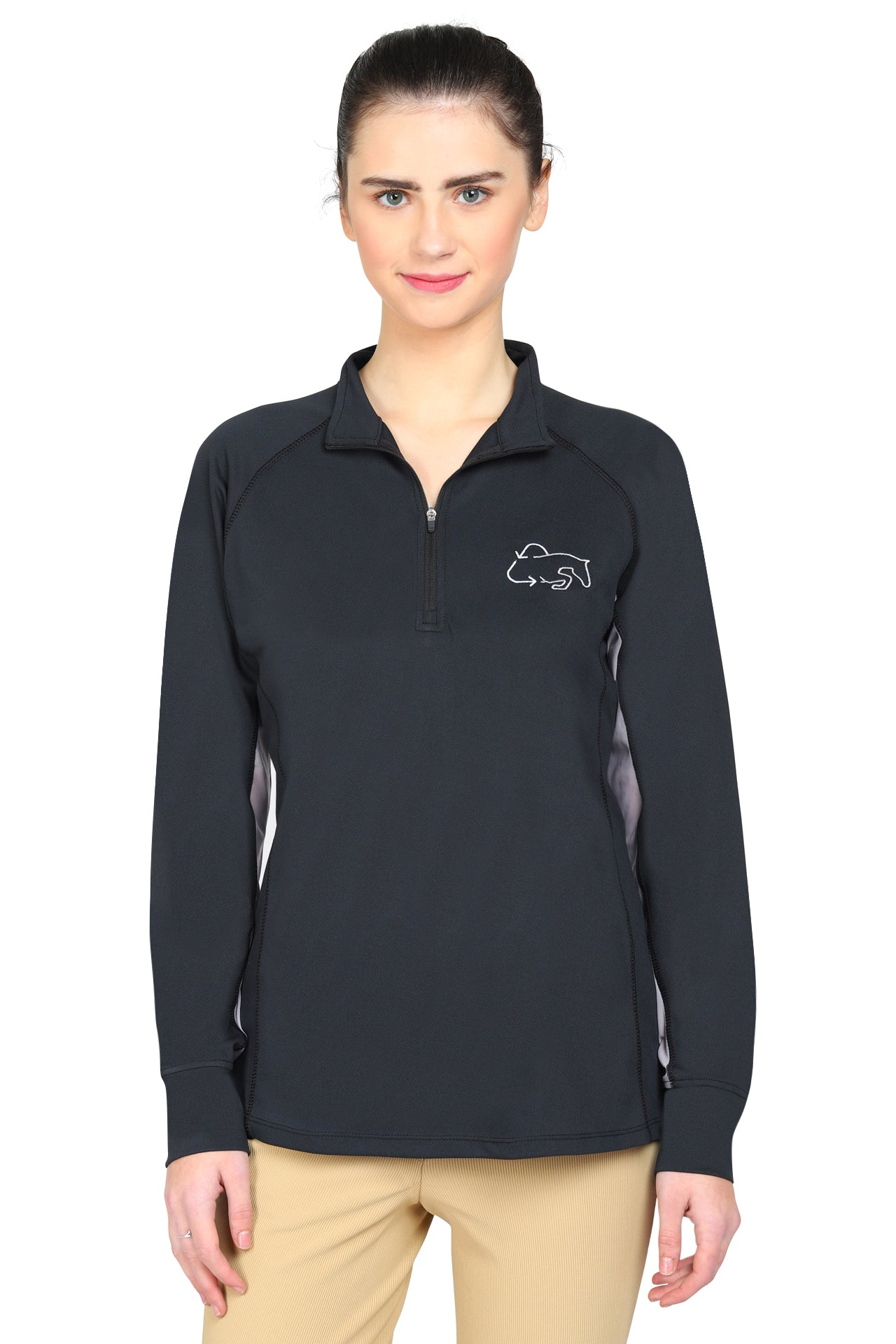 Ecorider By Tuffrider Ladies Denali Sport Shirt - TuffRider - Breeches.com