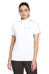 EQUINE COUTURE LADIES ELIANA SHORT SLEEVE SHOW SHIRT - Equine Couture - Breeches.com