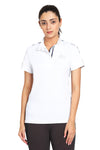 EQUINE COUTURE LADIES ELIANA SHORT SLEEVE SHOW SHIRT - Breeches.com - Breeches.com