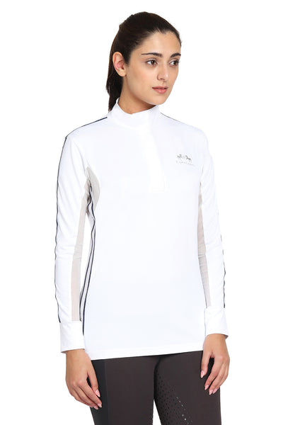 EQUINE COUTURE LADIES ELIANA LONG SLEEVE SHOW SHIRT - Equine Couture - Breeches.com