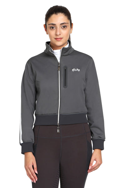 EQUINE COUTURE LADIES PIPPA CROPPED JACKET - Equine Couture - Breeches.com