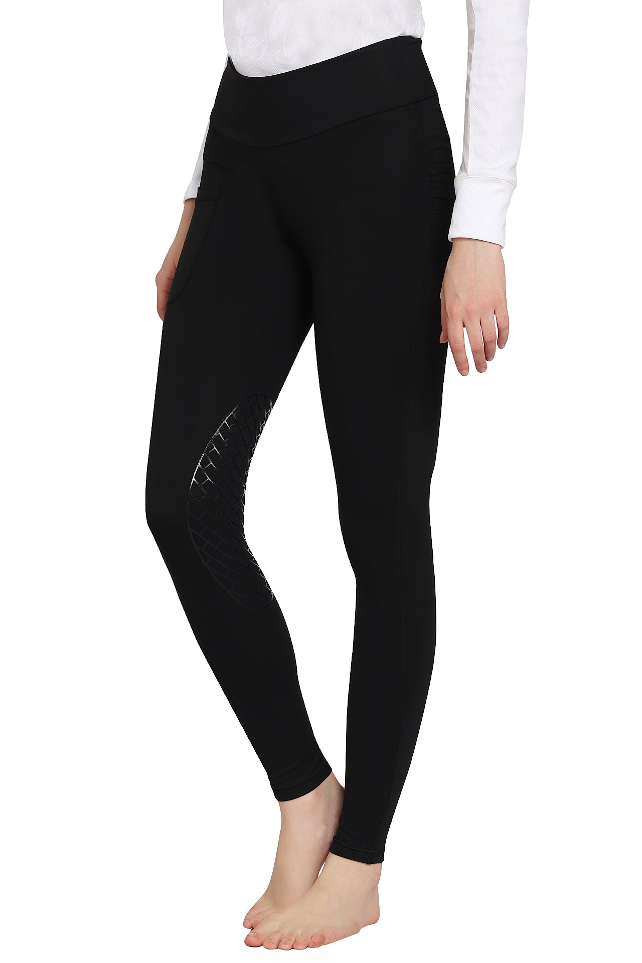 TuffRider Ladies Bootie Tights w/ Pocket - TuffRider - Breeches.com